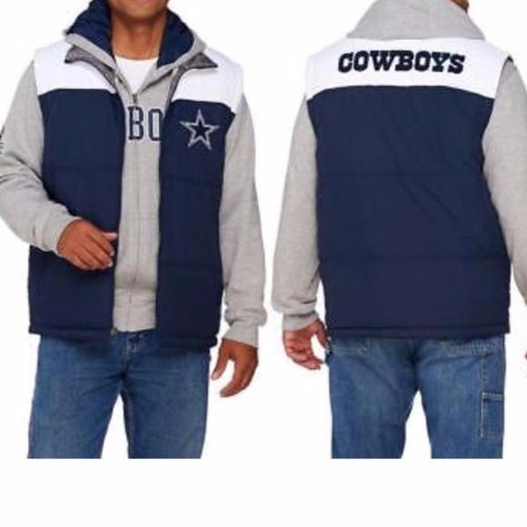 wholesale dealer afe75 02c62 Dallas Cowboys Men's Reversible Vest